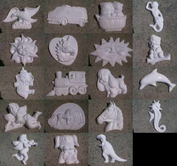 Plastermania Plaster | Moulds | Molds | Casts | Figurines